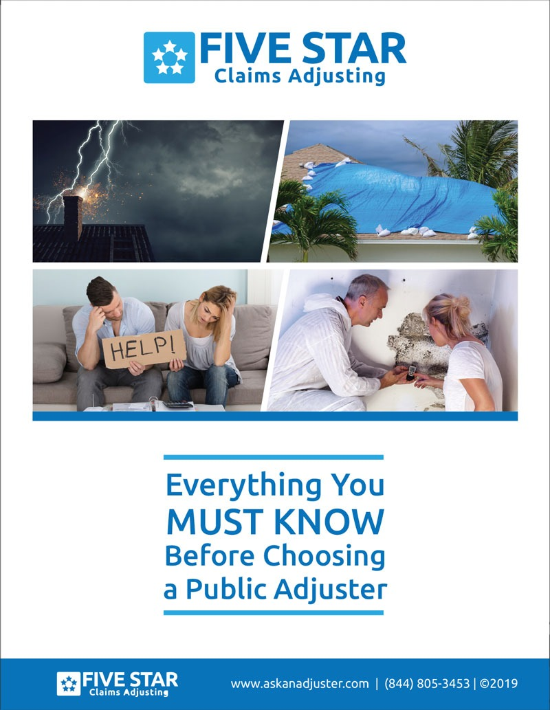Guide on how to hire a public adjuster